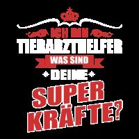 TIERARZTHELFER-Superkräfte GESCHENK
