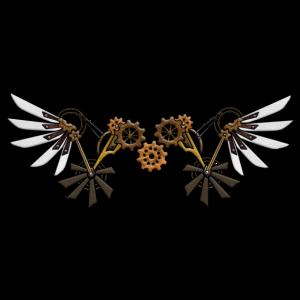 Steampunk Flügel