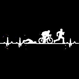 Herzschlag eines Triathleten - Triathlon Hearbeat