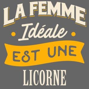 Cadeau Femme Ideale Licorne