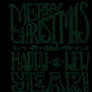 Weihnachtsbeschriftung