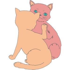 Le chat et le miroir