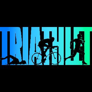 Triathlet - Bunt - Triathlon