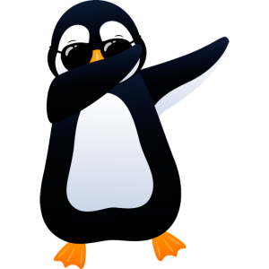 Dabbing Penguin With Sunglasses - Cool Gift