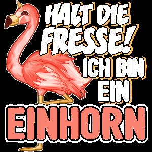 Einhorn Einhörner Unicorns Flamingo Geschenk