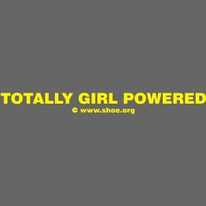 ACHTUNG LESBEN POWER: Totally Girl Powered Motiv