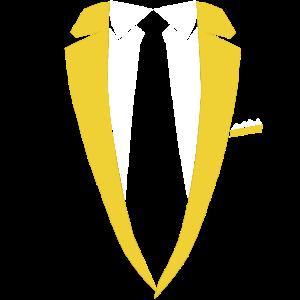 Sakko Krawatte Kostüm Party Edel Geschenk