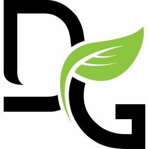 DrGreen Logo Symbol schwarz grün