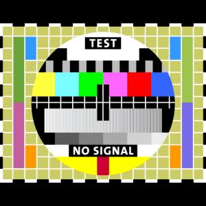 Testbild test card status no signal screen Display