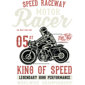 Motor Racer Motorrad