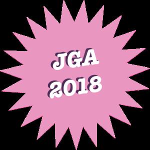 JGA 2018 rose