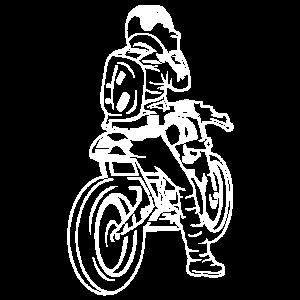 Cafe Racer Motorrad 02_weiß