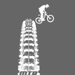 MTB Reifen Drop - Mountainbiker Fahrrad Downhill