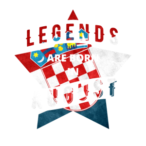 TShirt - Kroatien - Legende - August
