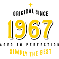 original since 1967 simply the best 50. Geburtstag