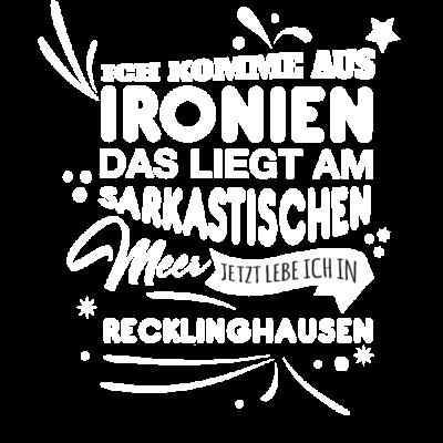 Recklinghausen Fun Geschenk Shirt - Recklinghausen Fun Geschenk Shirt - Weihnachtsgeschenk,Fun,Spaß,lustig,Idee,Geschnkidee,schenken,witzig,Stadt,Deutschland,Geburtstag,Geburtstagsgeschenk,Stadt-,Recklinghausen,cool,Sprüche,Spruch,Mode,Geschenkideen,Geschenk,witzige
