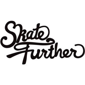 skate further logo final black