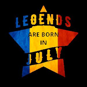 TShirt - Rumänien - Legende - Juli