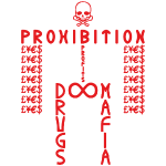 PROHIBITION (RED)