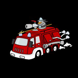 Bald bist auch du ein Feuerwehrmann!