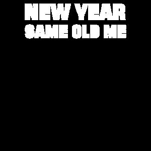 Neues Jahr Same Me