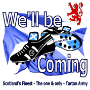 tartan army well be coming scotlands Finest