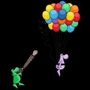Luftballons Katapult 4