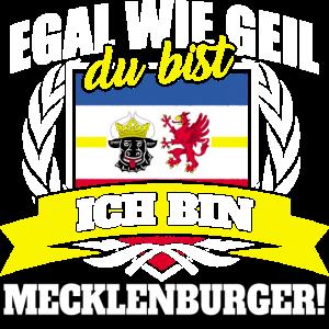 Mecklenburger Mecklenburg Mecklenburgerin Geschenk
