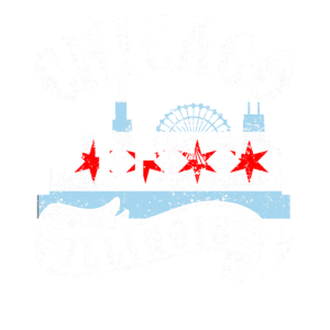 Chicago Illinois Vintage City Distressed