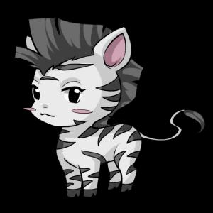 Süsses Zebra