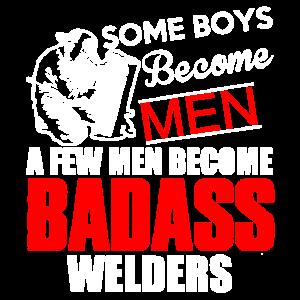 Badass Schweißer-Hemd