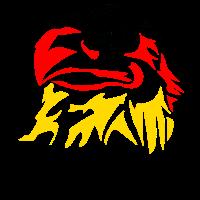 Schwarz-Rot-Gold Adler