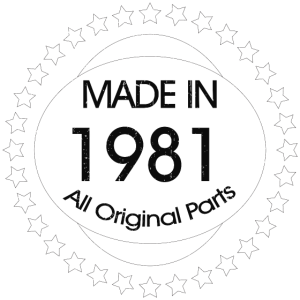 Made in 1981 All Original Parts