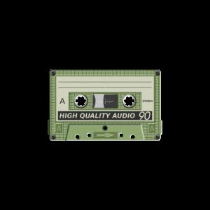 Used gebrauchte alte Cassette als Geschenk
