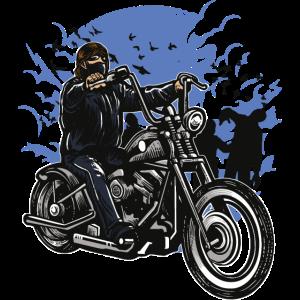 Zombie-Killer auf dem Fahrrad