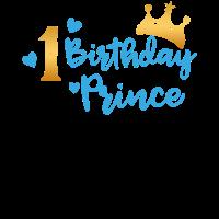Birthday Prince 1. Geburtstag Boy Junge Geschenk