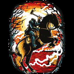 Kopfloser Reiter