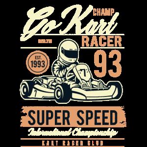 GO KART RACER - Go Kart Shirt Motiv