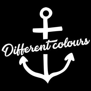 Different Colours White Logo