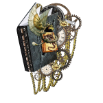 Steampunk dragon books