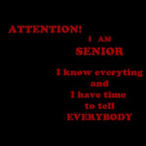 Achtung, Senior