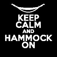 Hängematten T-Shirt: Keep Calm and Hammock On