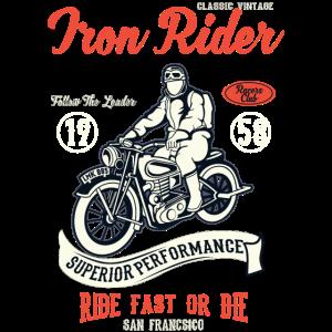 RACERS CLUB - Vintage Motorrad und Biker Shirt