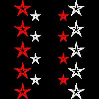 Sterne ohne Füllung