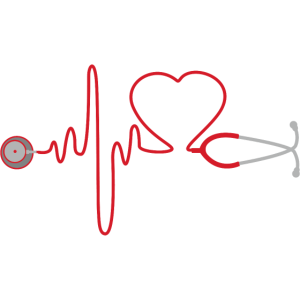 Ärztin Krankenschwester Geschenk Tshirt Heart Love