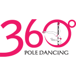 360 Pole Logo w/ Black Writing