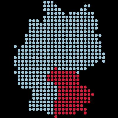 Bayern - Heimat von München und Augsburg. - Oh du schönes Bayern! - wiesn,regional,lederhosen,fussball,deutschland,deutsch,bundesländer,berge,Würzburg,Regensburg,Patriotismus,Oktoberfest,Nordsee,München,Map,Länder,Land,Karte,Germany,Dirndl,Bundesland,Bayreuth,Bayern,Augsburg,Alpen