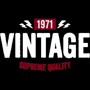 vintage quality 1971