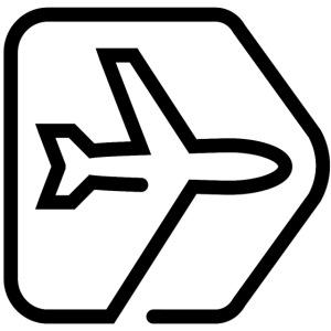 Netzpiloten Flieger Schwarz