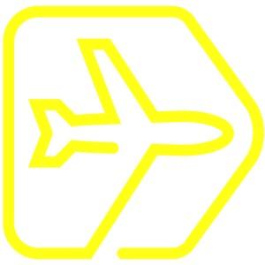 Netzpiloten Flieger Gelb
